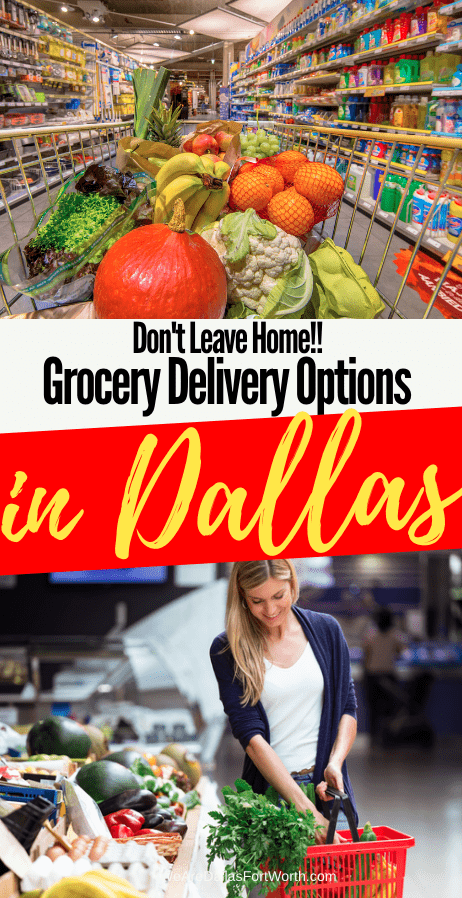 The BEST Grocery Delivery Services in Dallas TX for 2020