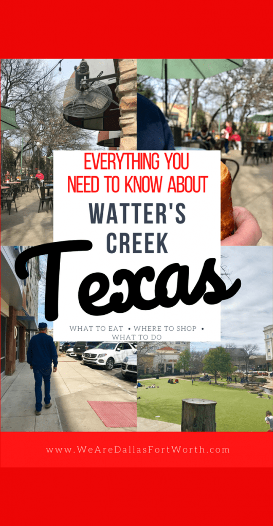 Everything You Need to Know About Watters Creek in Allen