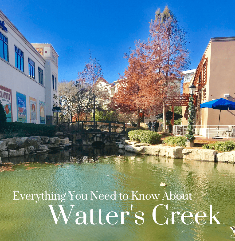 Everything You Need to Know About Watter's Creek in Allen