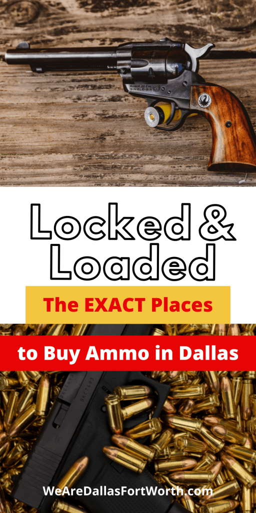 12 of the Best Places to Buy Ammo in Dallas